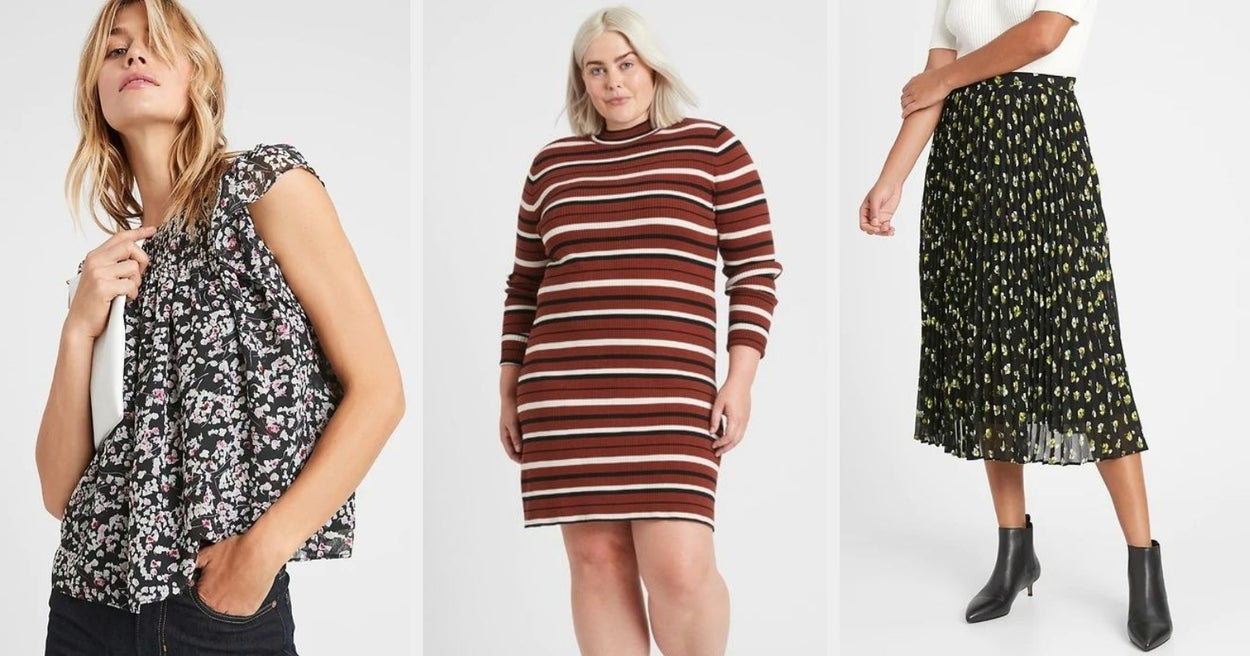 Almost Everything Is 50% Off At Banana Republic For Black Friday