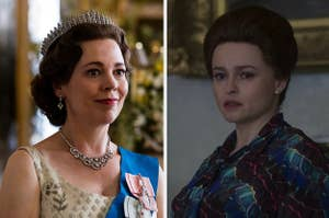 The Queen and Princess Margaret from The Crown