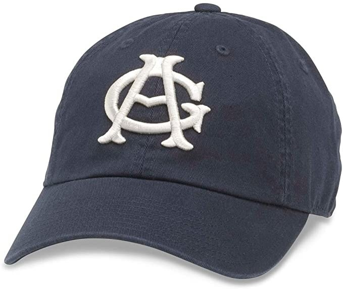 The Chicago American Giants cap in navy blue