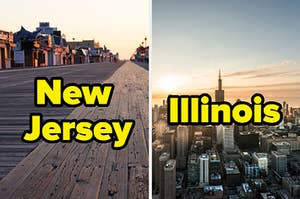 new jersey and illinois