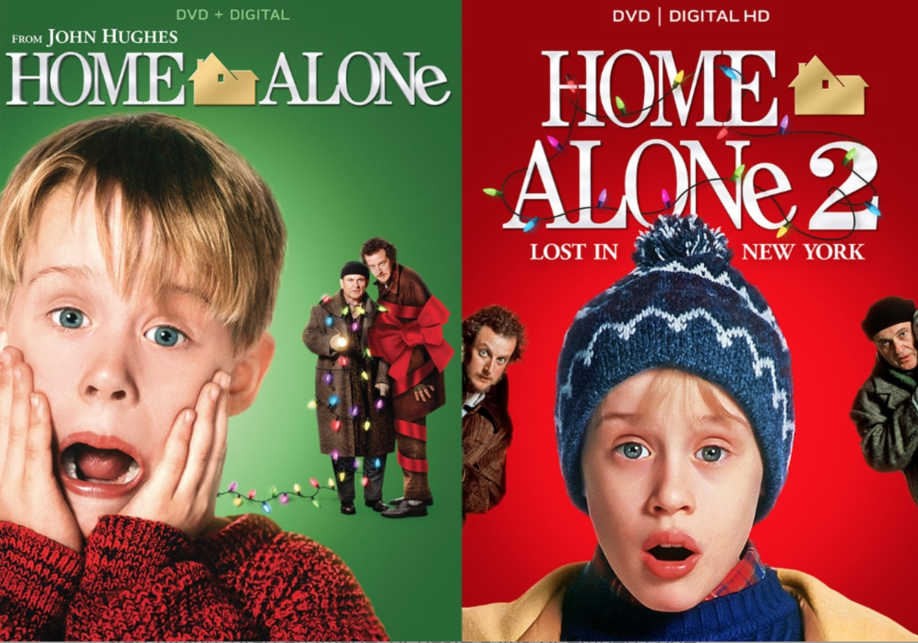 the cover of both movies