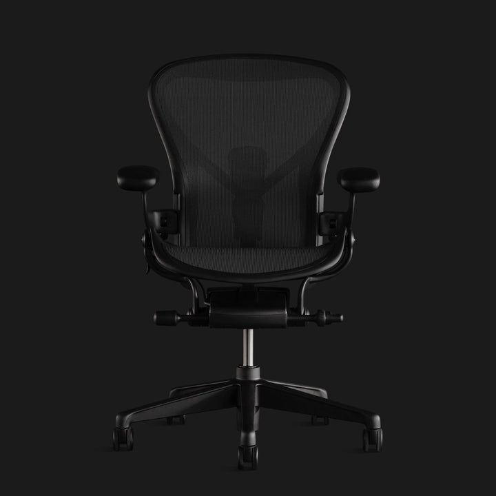 the all black chair