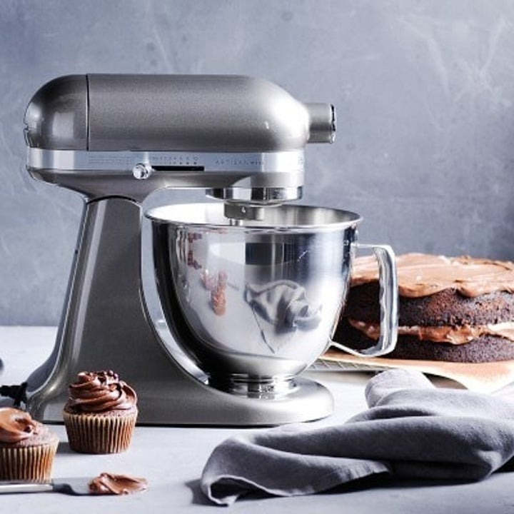 silver kitchenaid