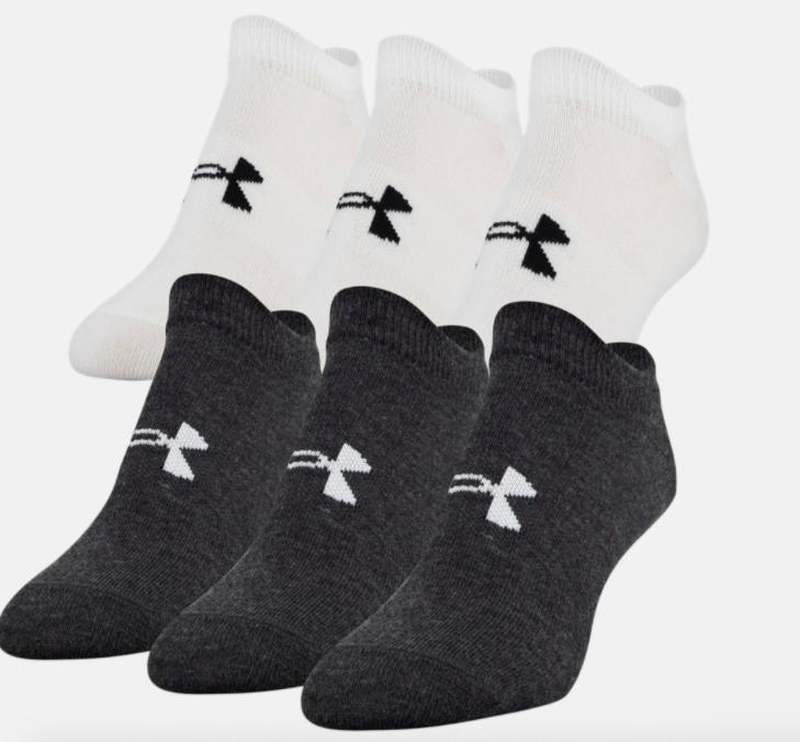 UA women's essential no show socks