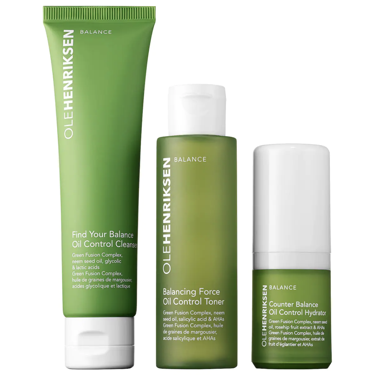 The three products