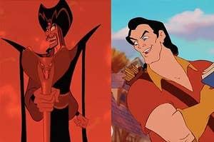 Jafar and Gaston