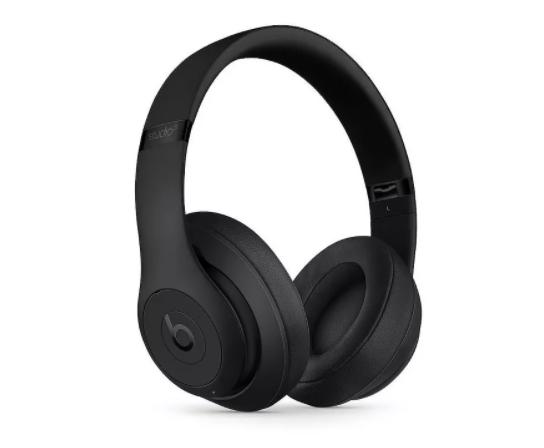 black Beats headphones