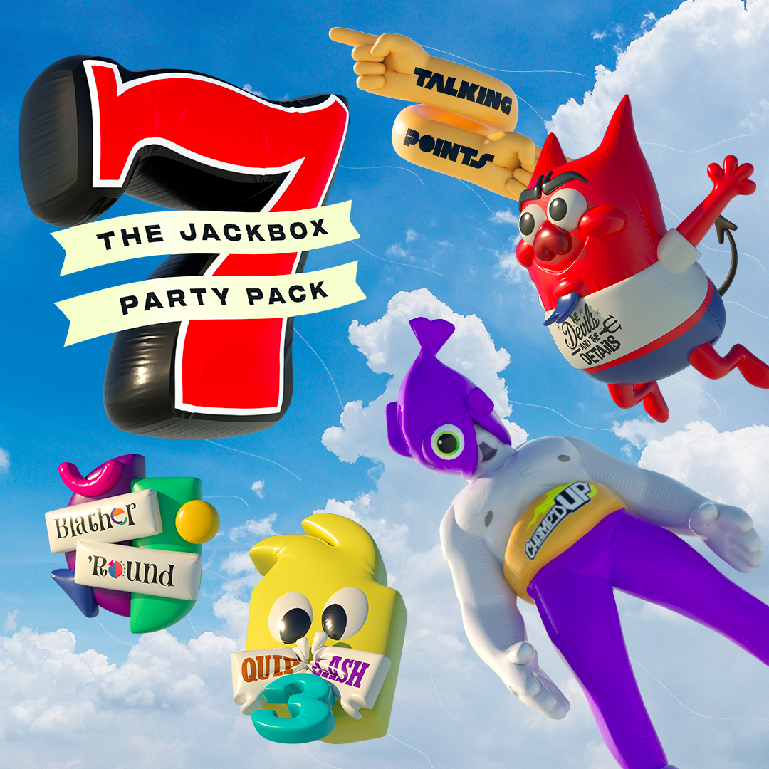 The promo photo for the Jackbox Party Pack 7