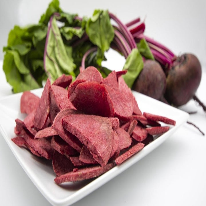 dried out beet slices