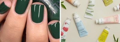 left, polish, right, lotion