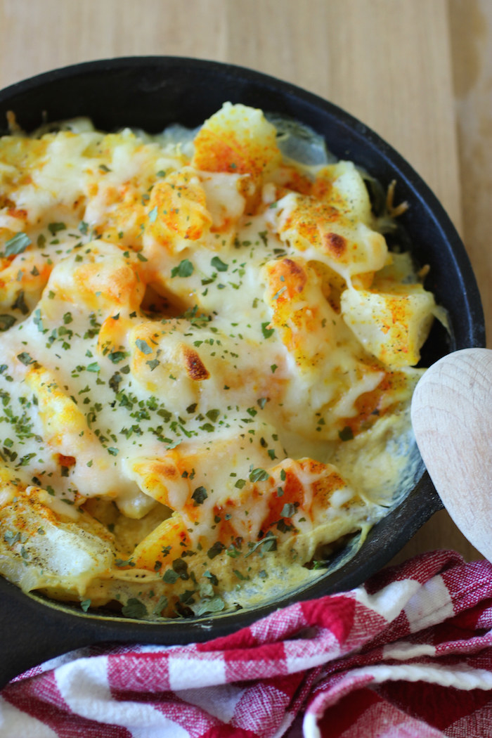Columbian-style potatoes