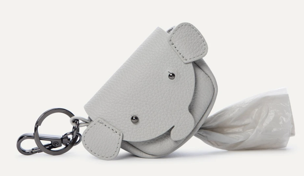 Dog Poop Bag Holder in gray
