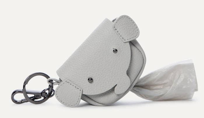 Dog Poop Bag Holder in gray
