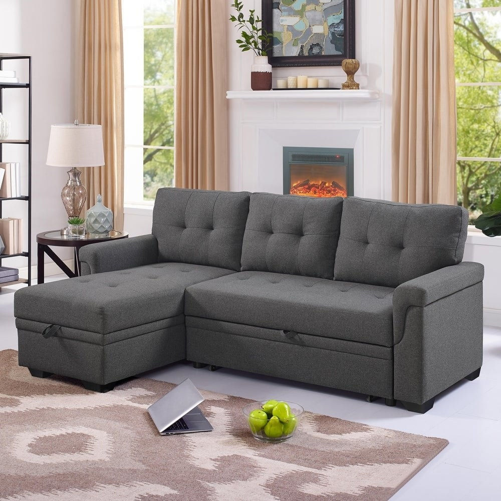 The gray sectional