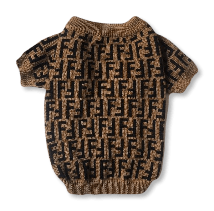 Fur Baby Coffee Dog Sweater