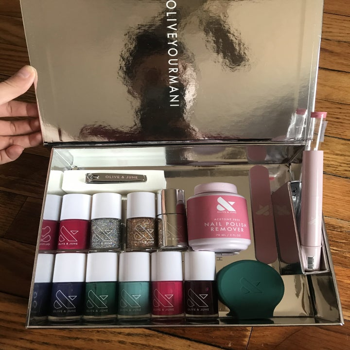 the mani kit and winter colors