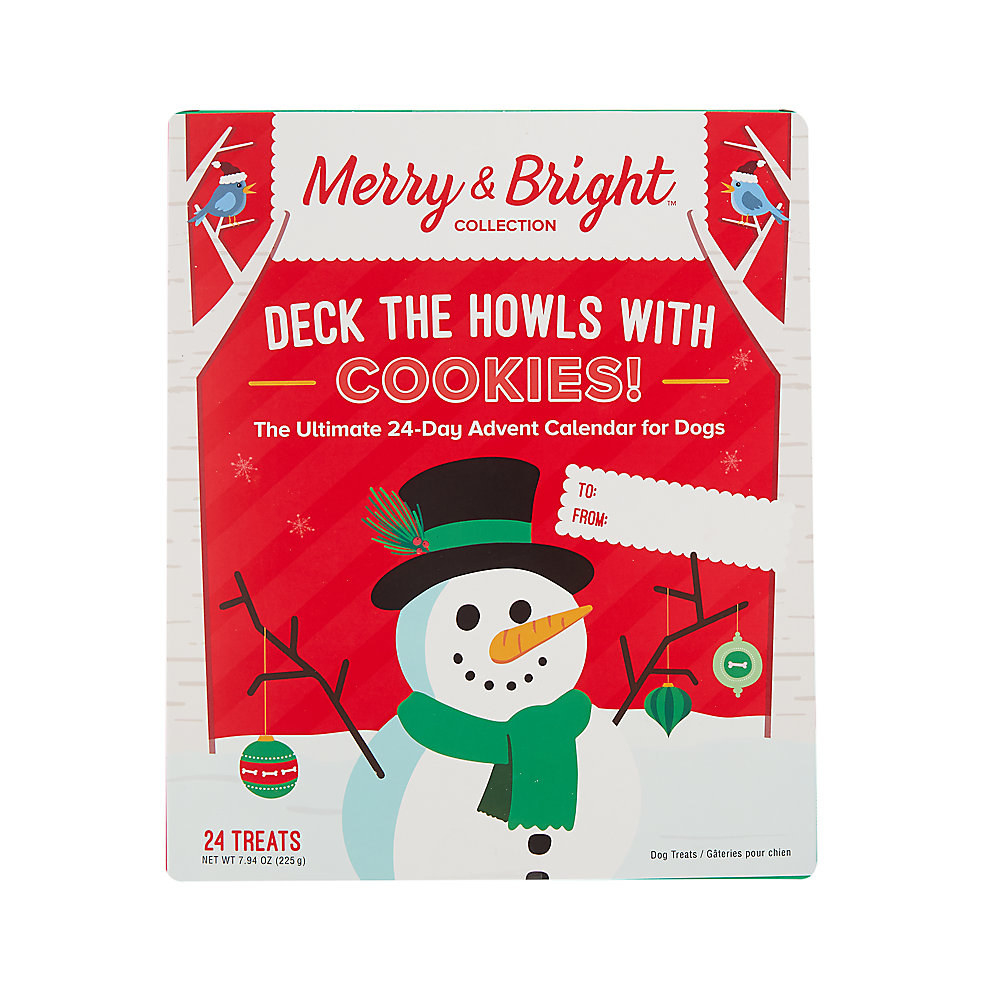 Merry & Bright advent calendar for dogs