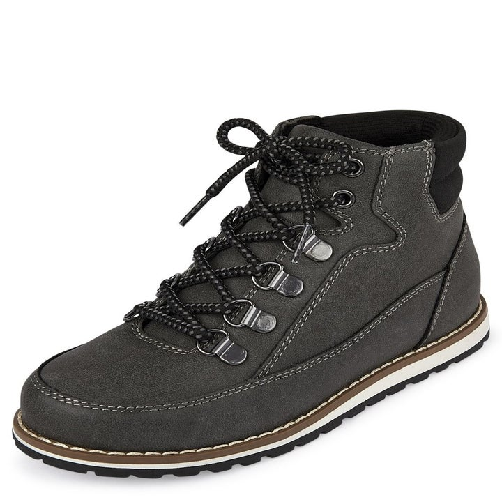 The lace up hi boots