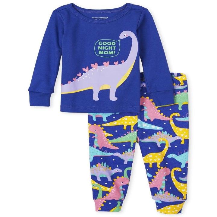 The dino pajamas