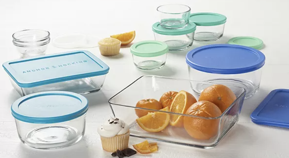 Anchor Hocking 20-piece food storage container set
