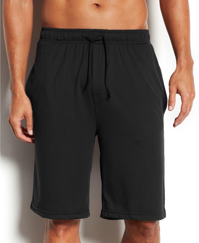 model wearing 32 degrees pajama shorts