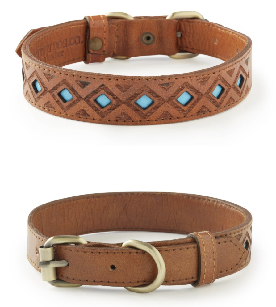 Pipeline leather collar