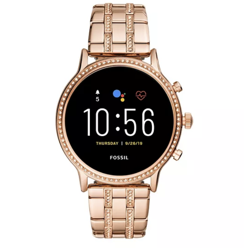 Fossil Gen 5 Smart Watch in rose gold