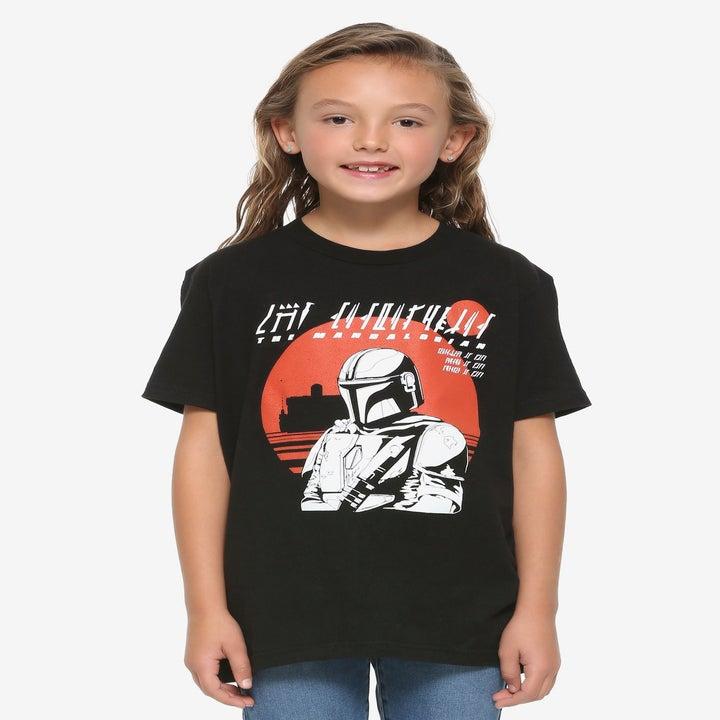 The Star Wars The Mandalorian t-shirt