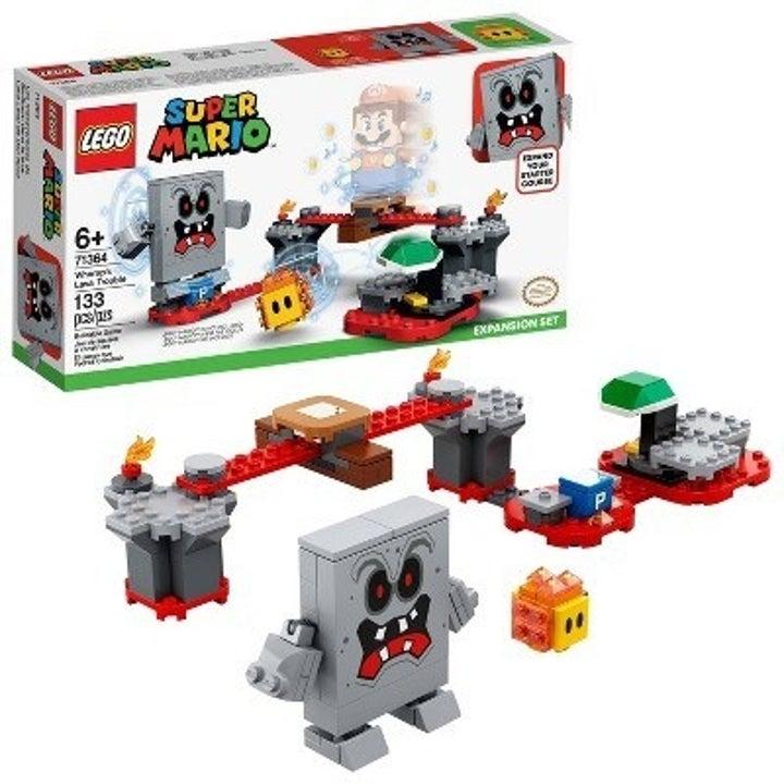The super mario lego set