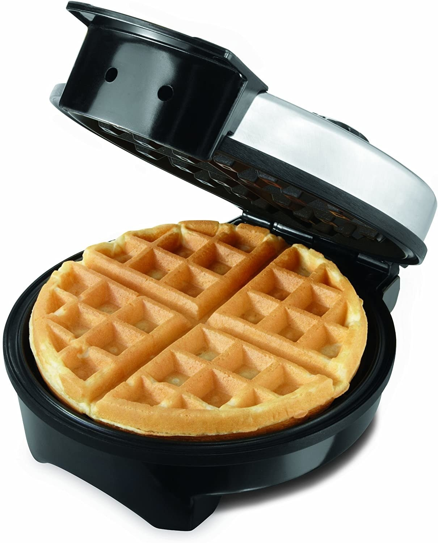 waffle in waffle maker