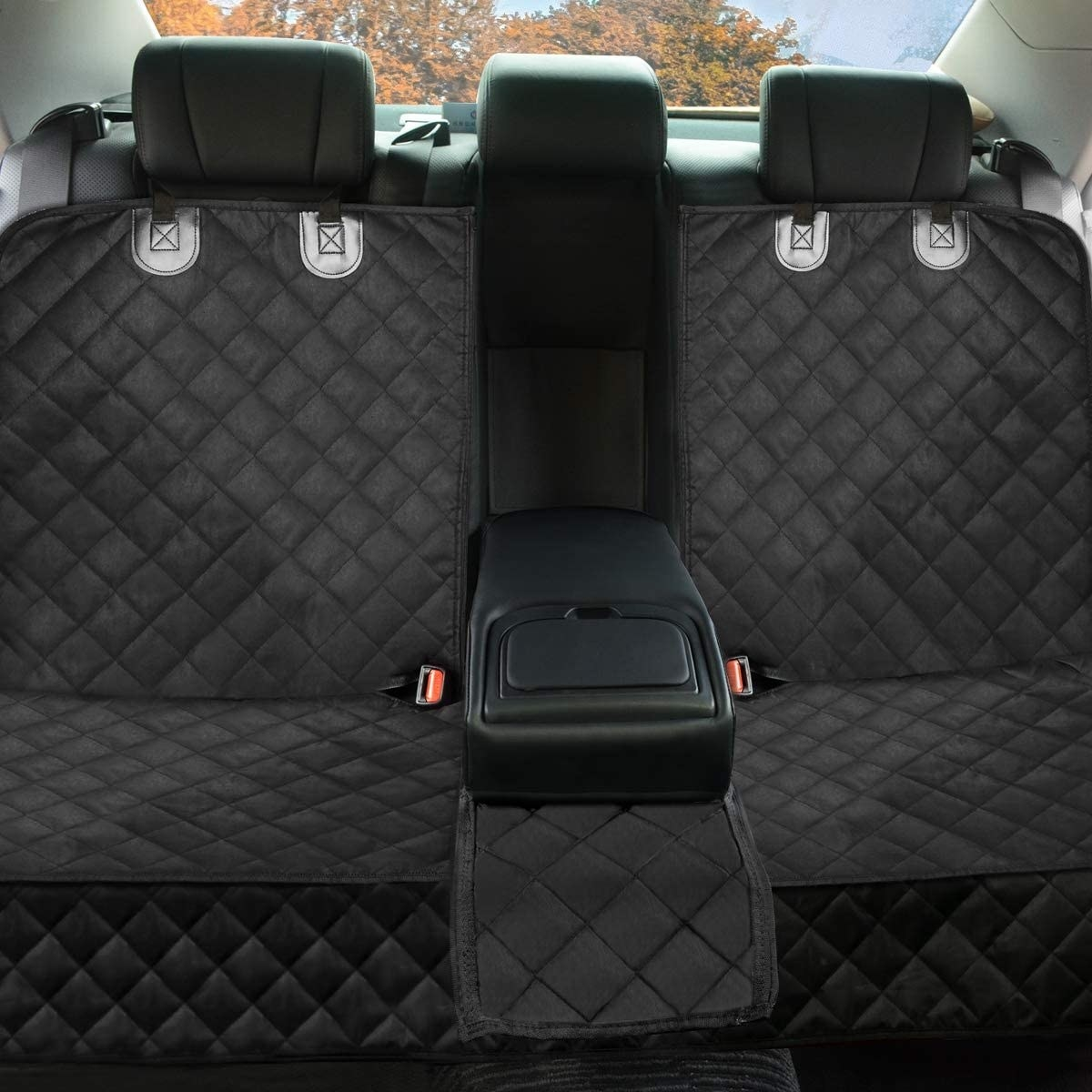 car protectors on backseat