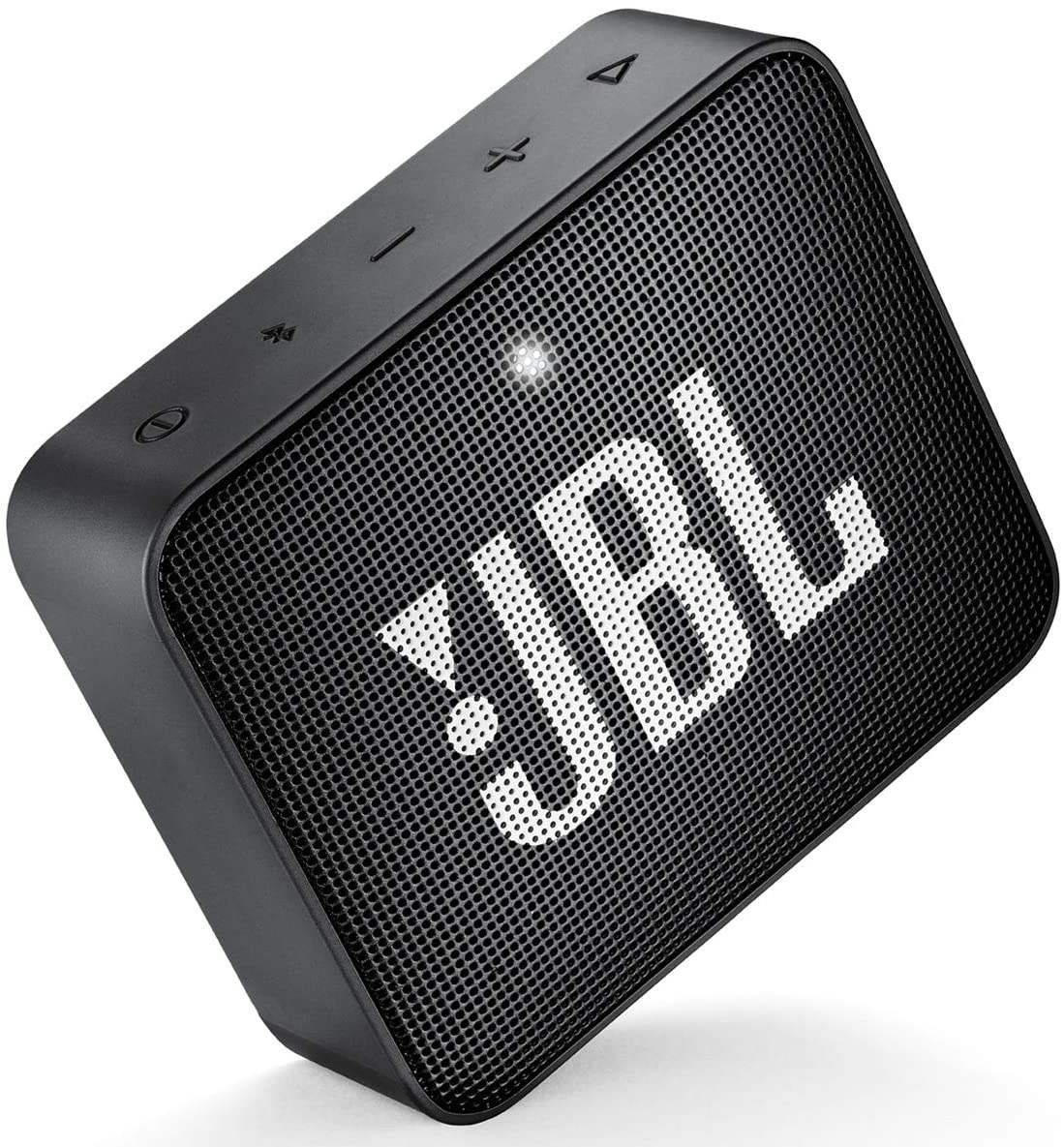 Square-shaped speaker with JBL on it