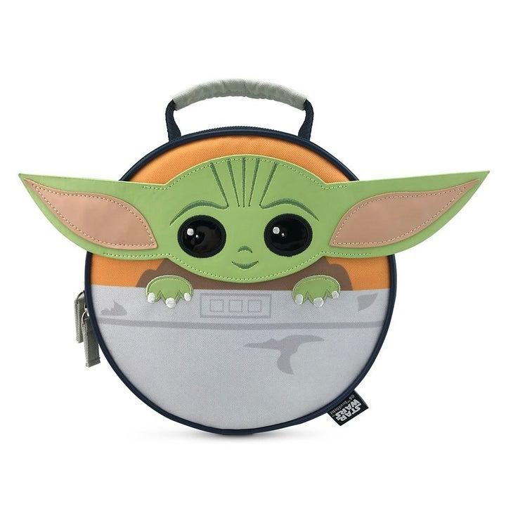 A baby Yoda lunch box