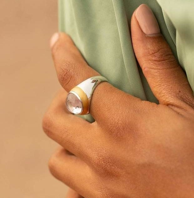 The enamel ring
