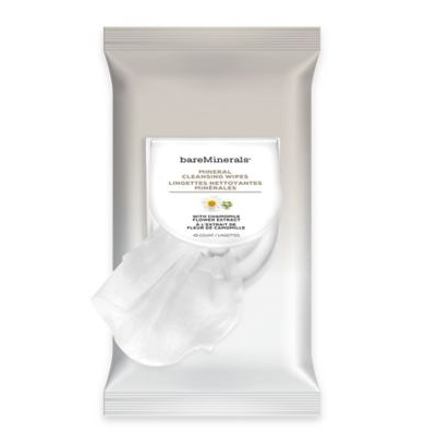 The pack of makeup wipes