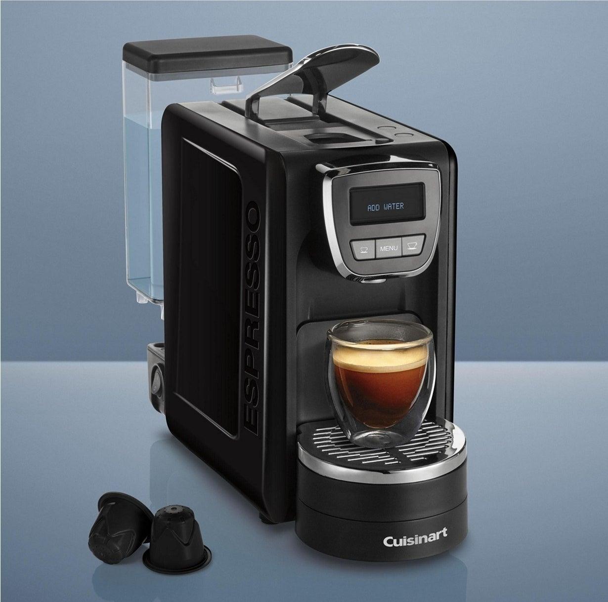 The Cuisinart EM-25 Espresso Defined™ machine