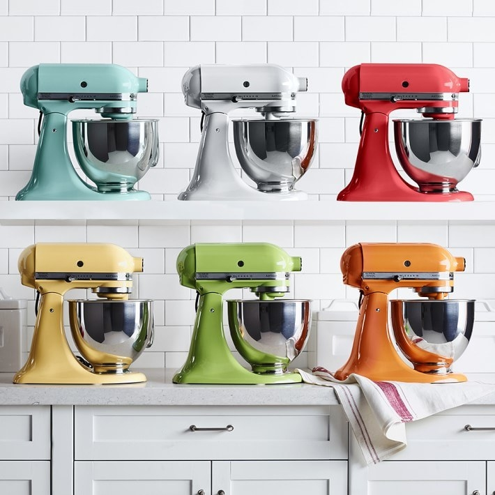 The mixer in six colors