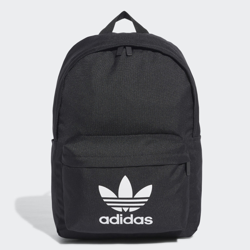A backpack with the Adidas logo