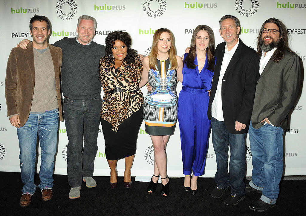 Tristram Shapeero and the cast of Community
