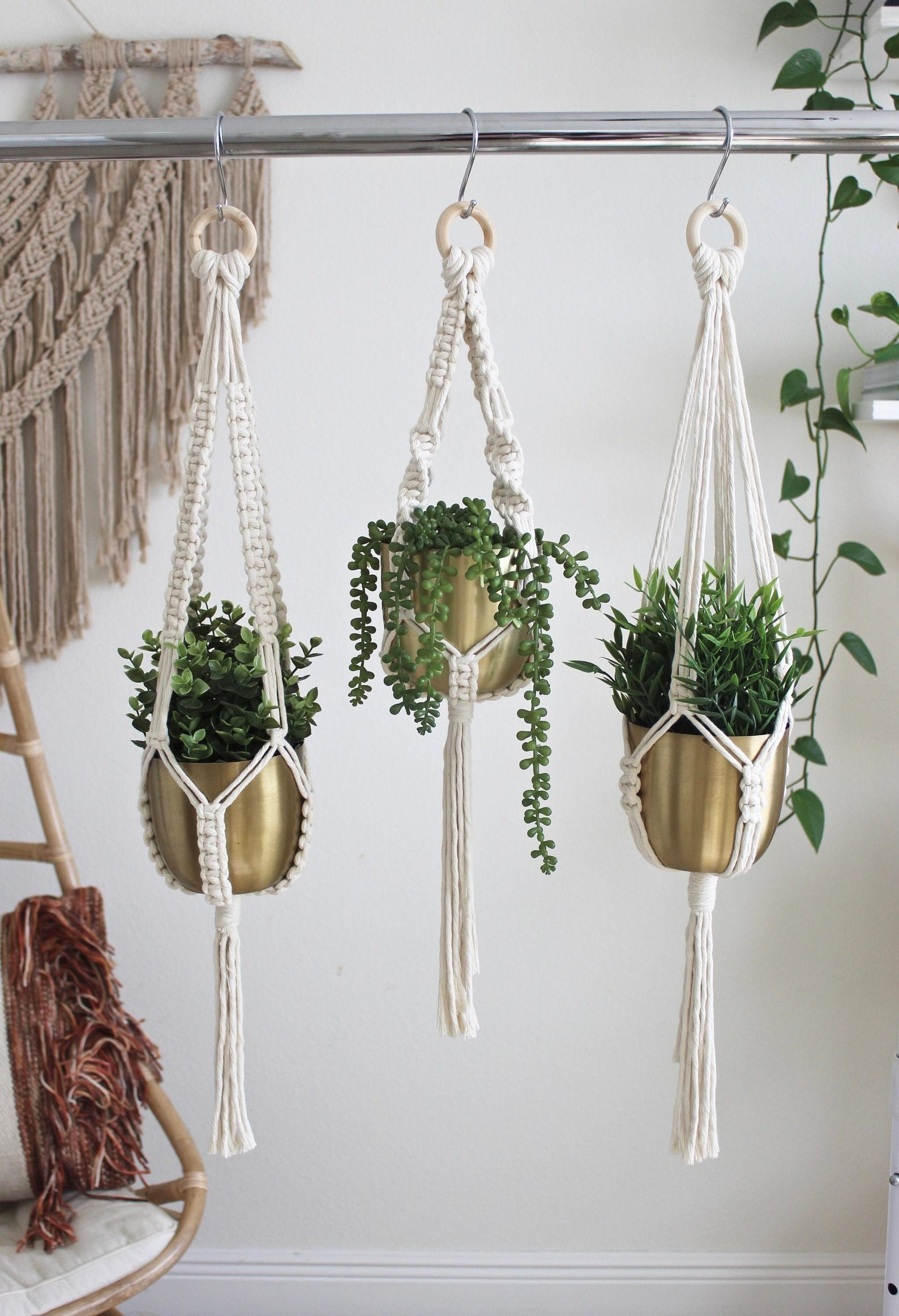 The Macrame Plant Hanger