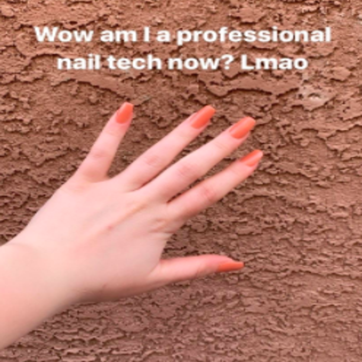 reviewer's mani