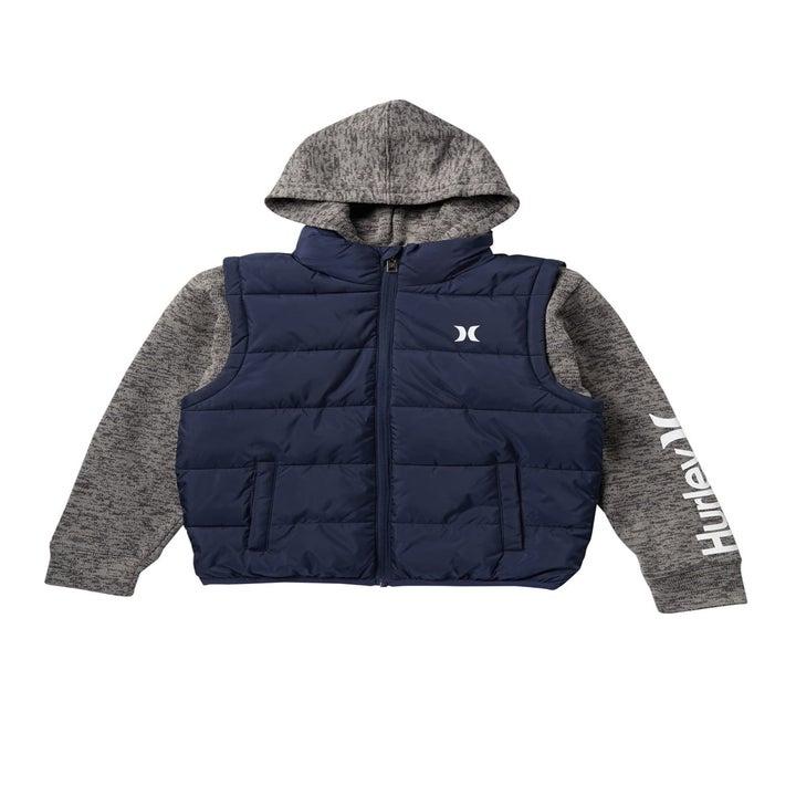 Hurley puffer coat
