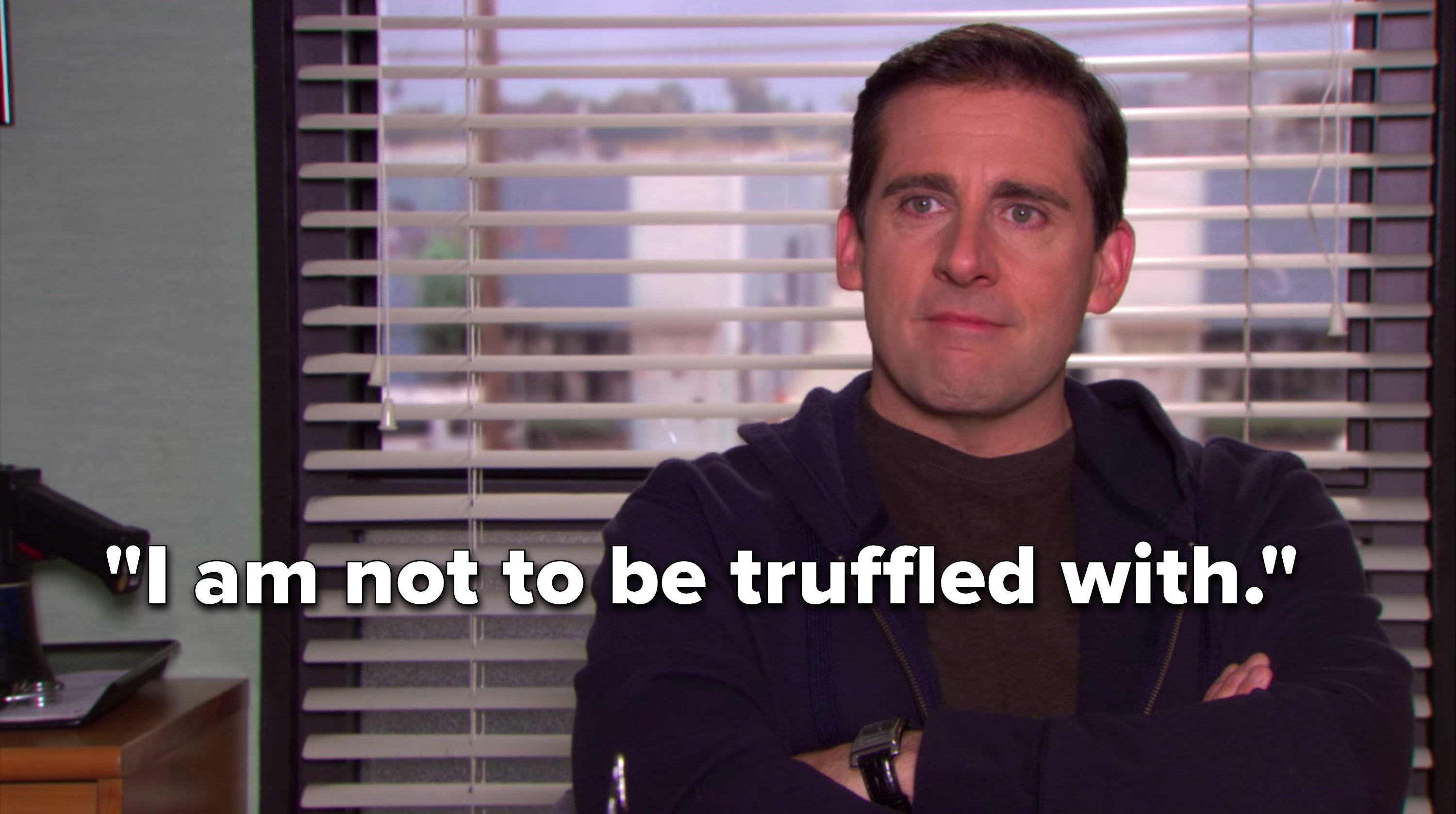 """Michael says, """"I am not to be truffled with"""""""