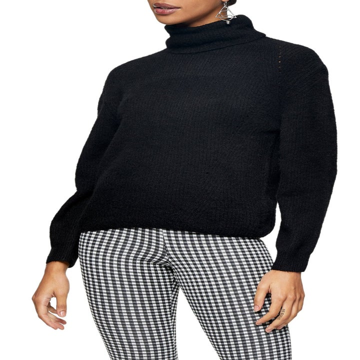 the Roll Crop Sweater