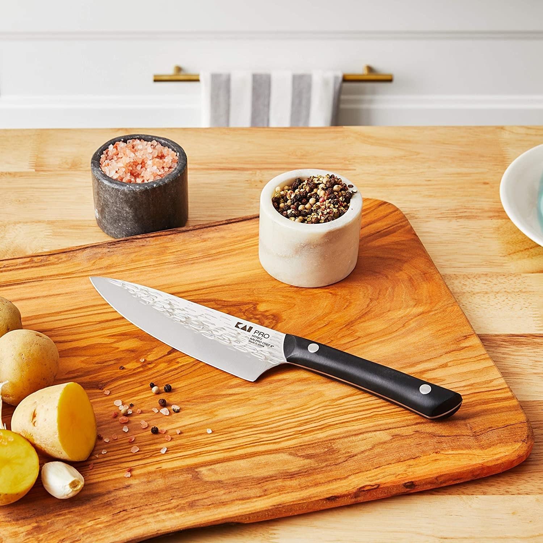 knife on a cutting board