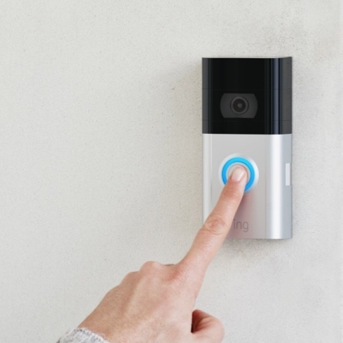 The Ring doorbell