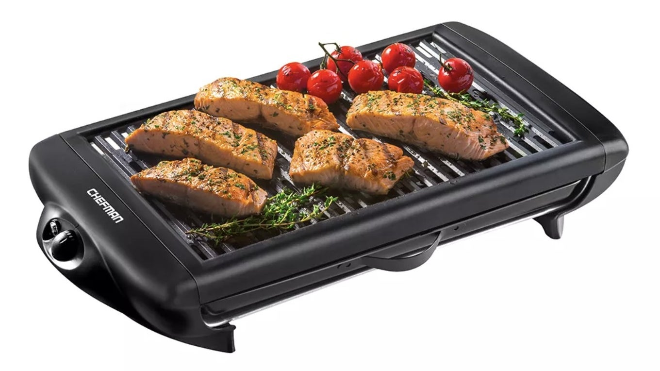 The flat indoor grill