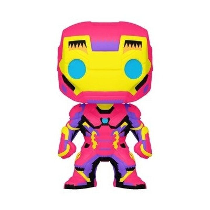 Funko Pop Black Light Iron Man