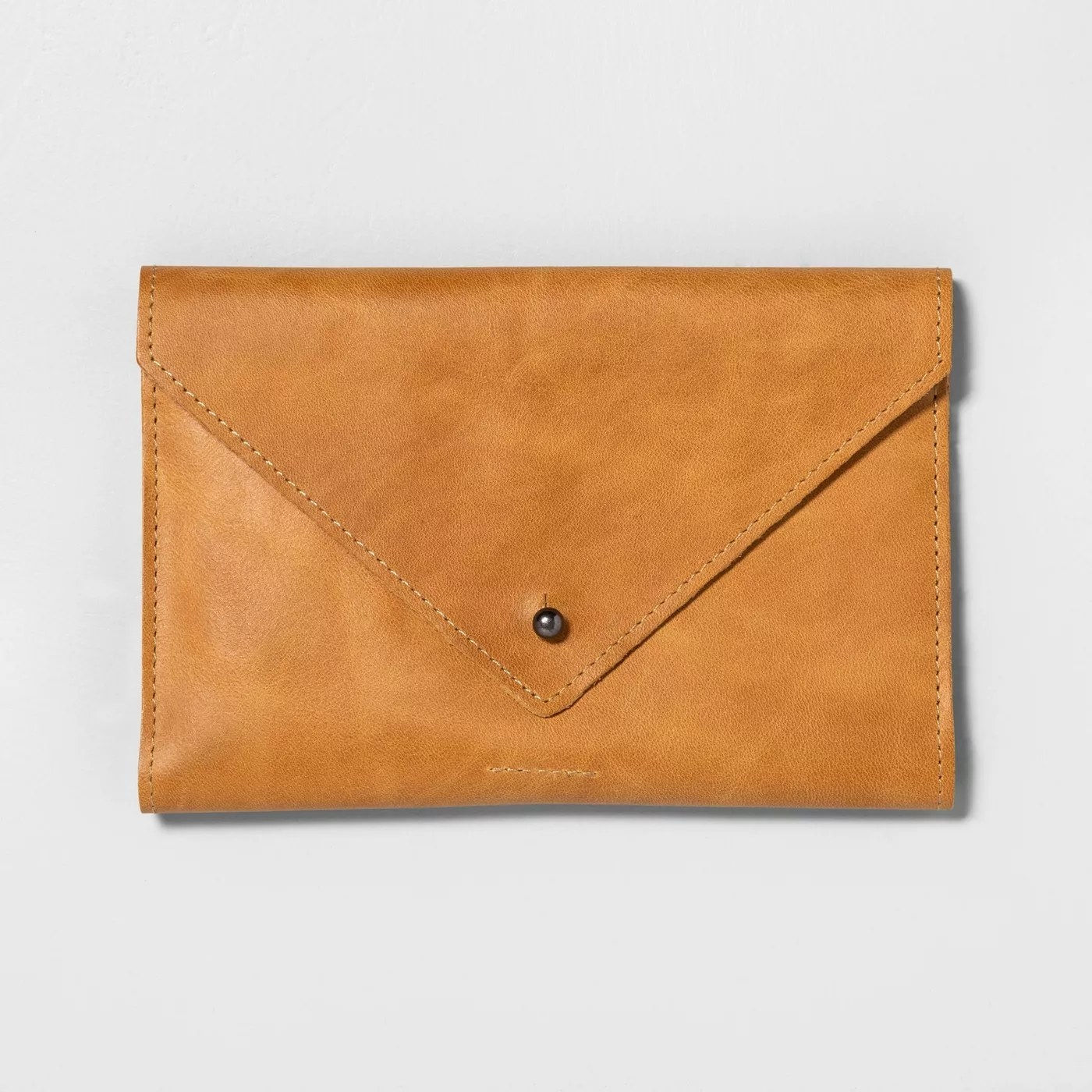The cognac leather wallet