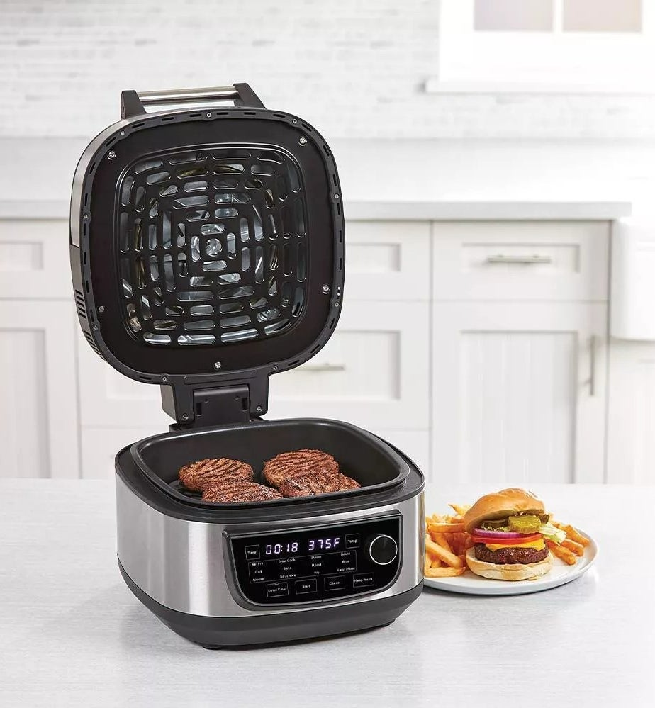 The PowerXL grill-air-fryer combo